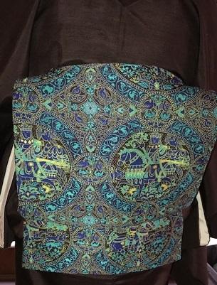 新年会・赤城紬にまいづる古代騎馬文袋帯のお客様。_f0181251_18073098.jpg