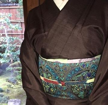 新年会・赤城紬にまいづる古代騎馬文袋帯のお客様。_f0181251_18111432.jpg