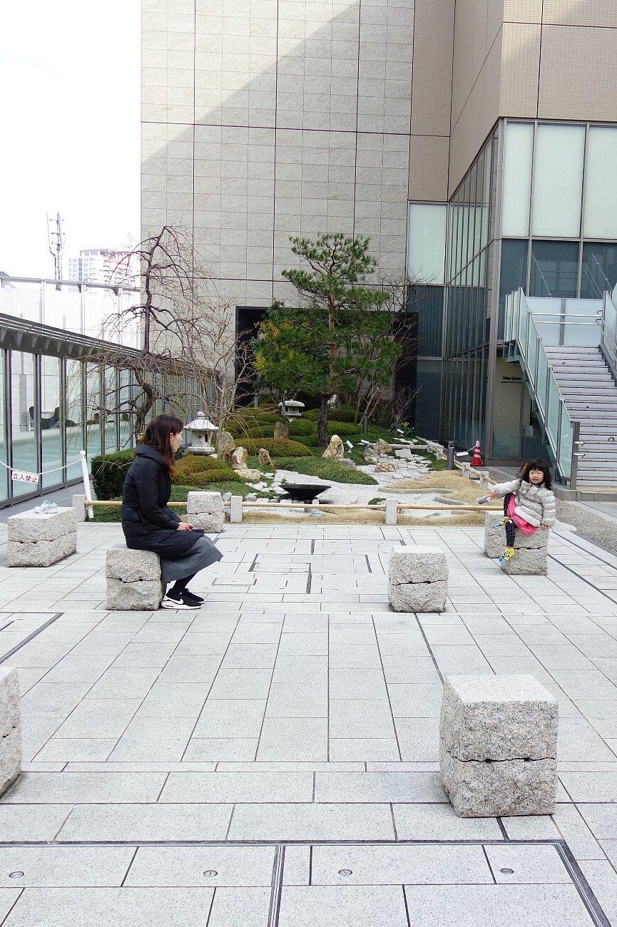 大阪ステーションシティ 和らぎの庭_c0112559_08144046.jpg