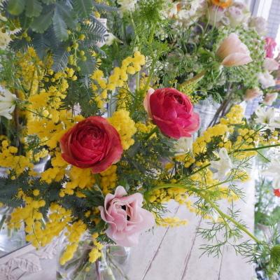 オークリーフ花の教室(西田さんの作品)_f0049672_17081070.jpg