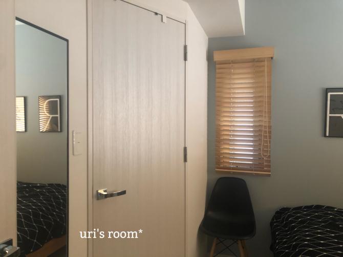 息子の部屋にミラーを設置しました。_a0341288_20214241.jpg