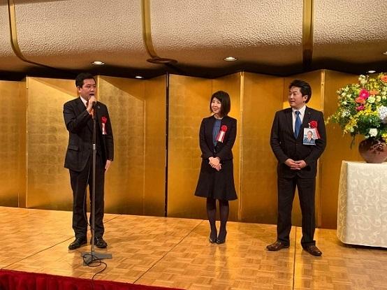 街頭演説と新年会_c0092197_16171792.jpg