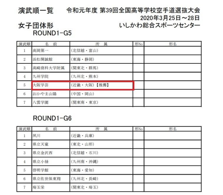 トーナメント公開 39th全国高校選抜空手道 IN 石川_e0238098_12393716.jpg