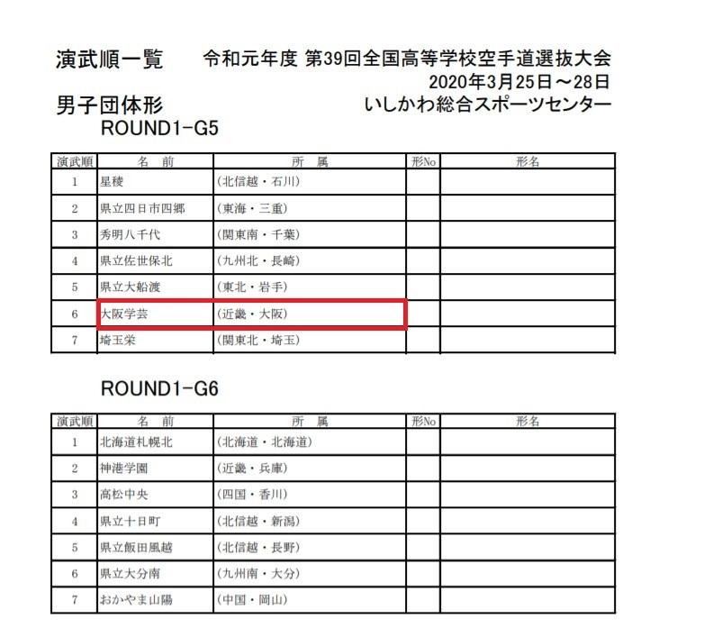 トーナメント公開 39th全国高校選抜空手道 IN 石川_e0238098_12401481.jpg