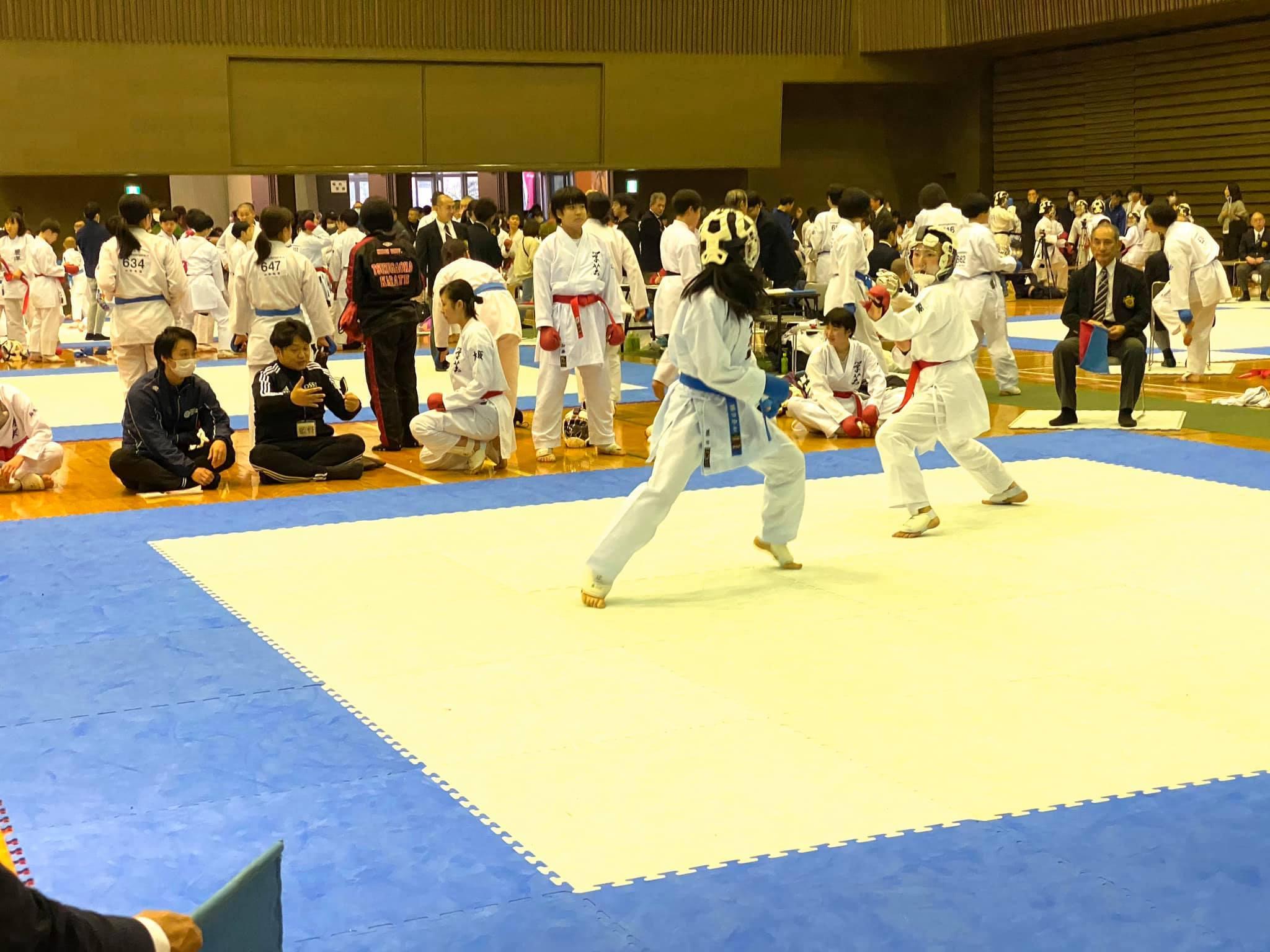 女子団体組手で優勝 8th桜空杯_e0238098_15251901.jpg