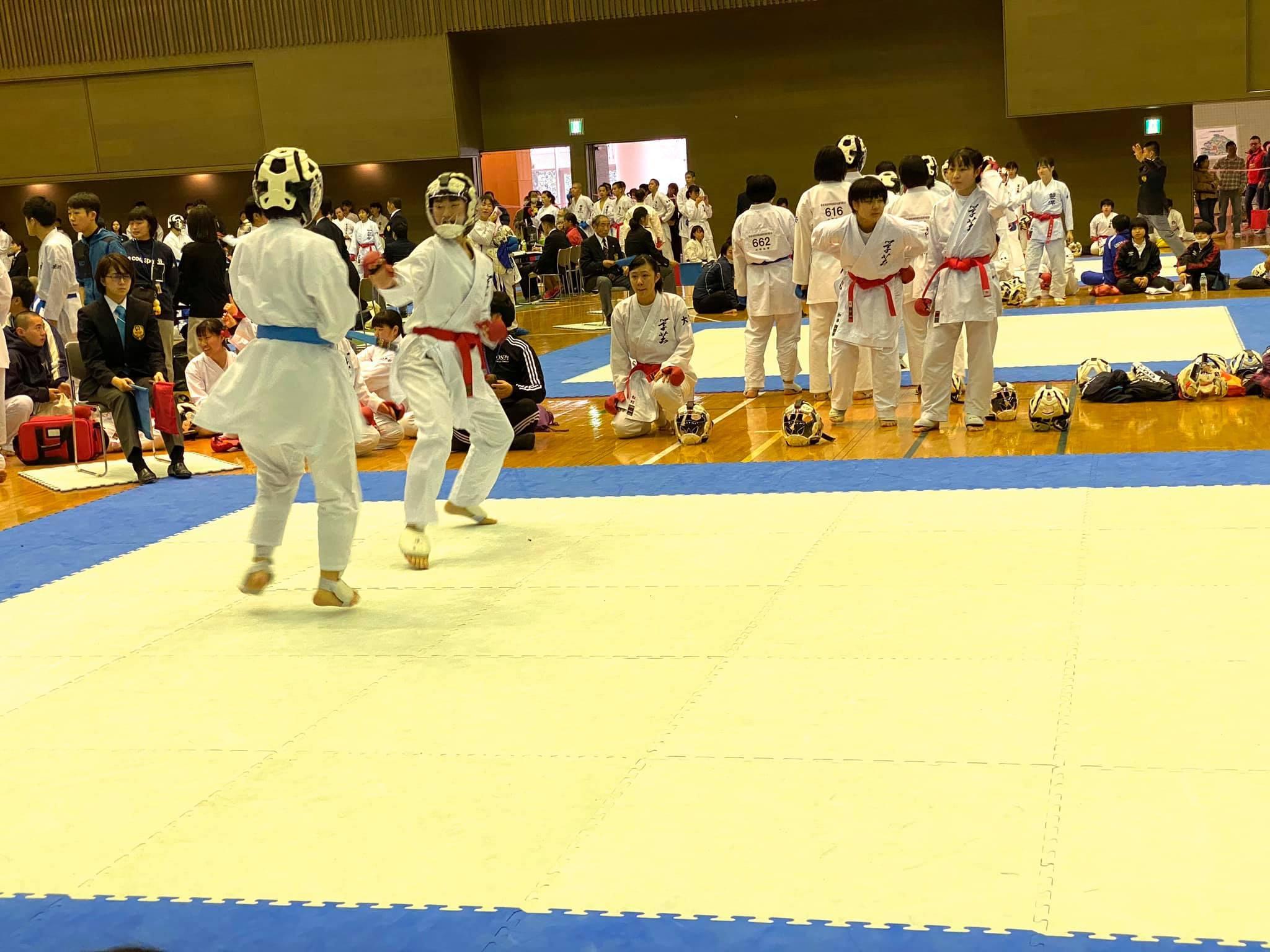 女子団体組手で優勝 8th桜空杯_e0238098_15253473.jpg