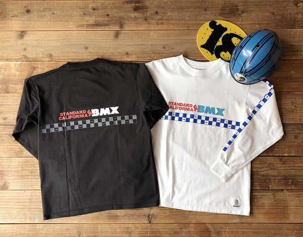 【DELIVERY】 STANDARD CALIFORNIA - Heavyweight BMX Logo Long Sleeve T_a0076701_18300176.jpg