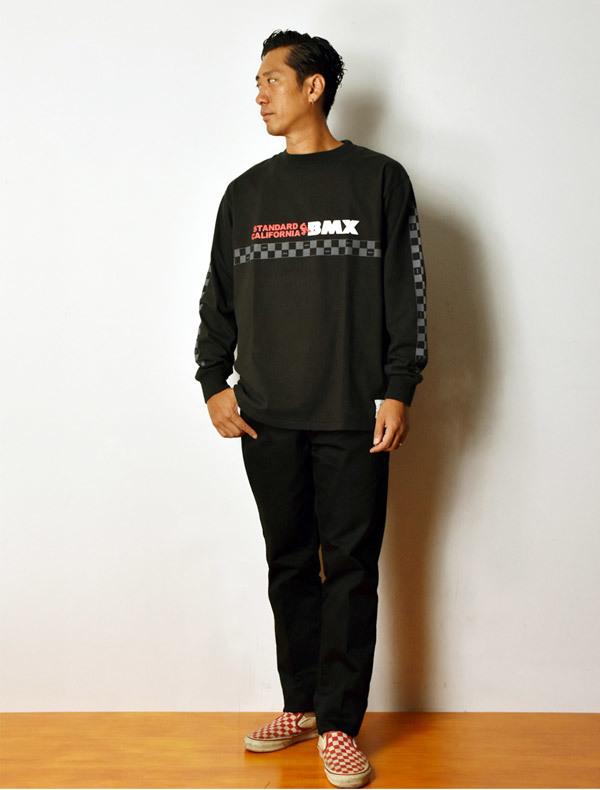 【DELIVERY】 STANDARD CALIFORNIA - Heavyweight BMX Logo Long Sleeve T_a0076701_18335753.jpg