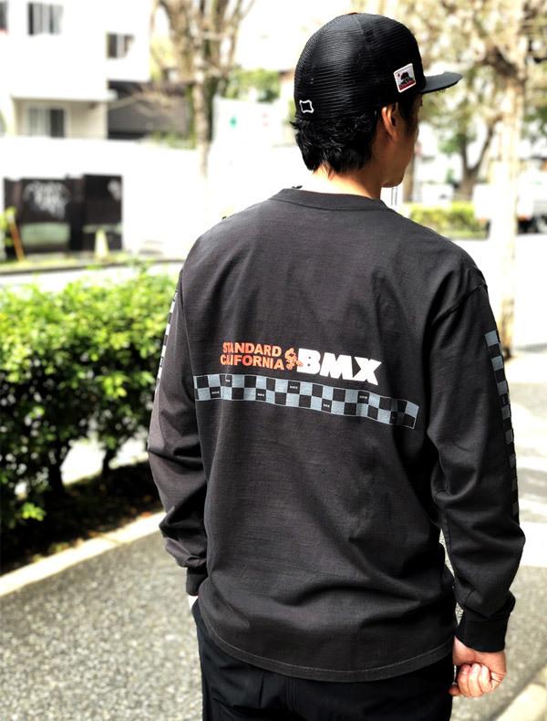 【DELIVERY】 STANDARD CALIFORNIA - Heavyweight BMX Logo Long Sleeve T_a0076701_18340490.jpg