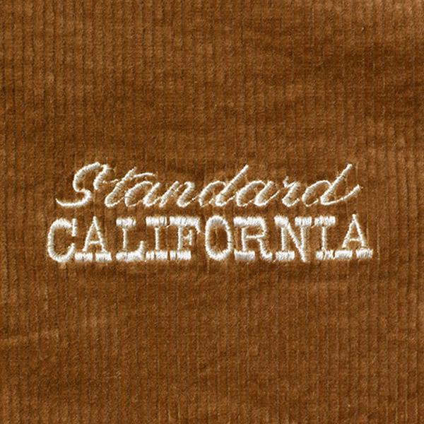 【DELIVERY】 STANDARD CALIFORNIA - Stretch Corduroy Hood Harrington Jacket_a0076701_18435920.jpg
