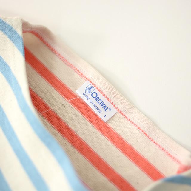 ORCIVAL [オーチバル・オーシバル] HARLEQUIN COTTON LOURD VASQUE BORDER [B211] バスクシャツ/MEN\'S/LADY\'S _f0051306_15250718.jpg