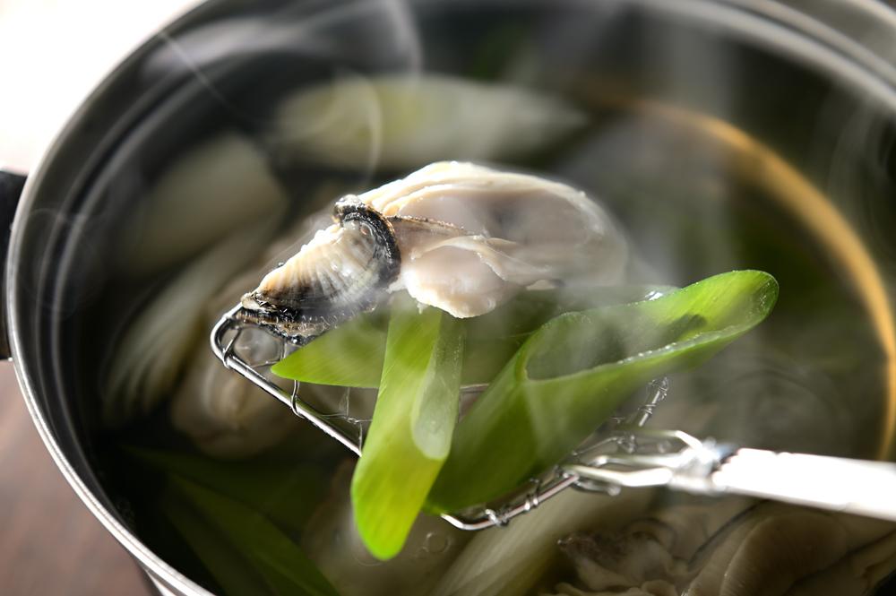 メシ通『魚介を使った簡単レシピ 』☆ 牡蠣のしゃぶしゃぶ!_d0069838_07192431.jpg