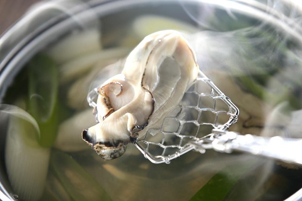メシ通『魚介を使った簡単レシピ 』☆ 牡蠣のしゃぶしゃぶ!_d0069838_07192752.jpg