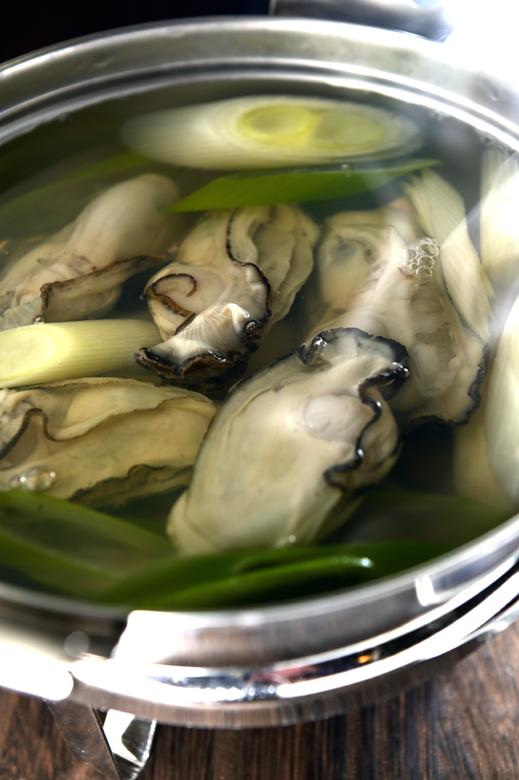 メシ通『魚介を使った簡単レシピ 』☆ 牡蠣のしゃぶしゃぶ!_d0069838_07194946.jpg