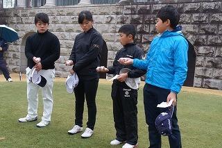 第36回 梶岡建設ジュニアゴルフ月例競技会_f0151251_10525087.jpg