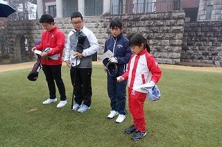 第36回 梶岡建設ジュニアゴルフ月例競技会_f0151251_11055033.jpg