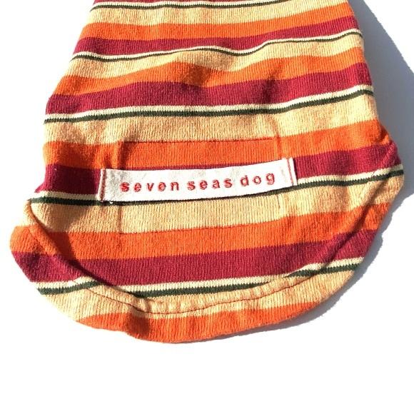 seven seas dog border T shirt セブンシーズドッグ ボーダーTシャツ_d0217958_11590207.jpeg