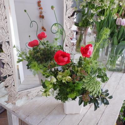 オークリーフ花の教室(須藤さんの作品)_f0049672_16133440.jpg