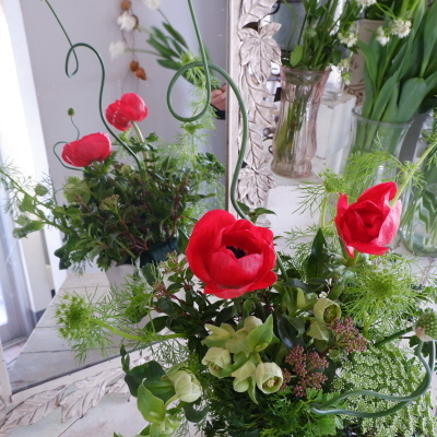 オークリーフ花の教室(須藤さんの作品)_f0049672_16133879.jpg