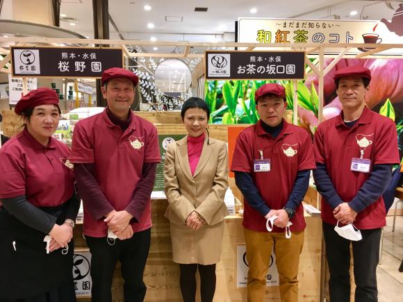 みなまた和紅茶が阪急梅田店へ。(熊本県)_d0339676_18330440.jpg