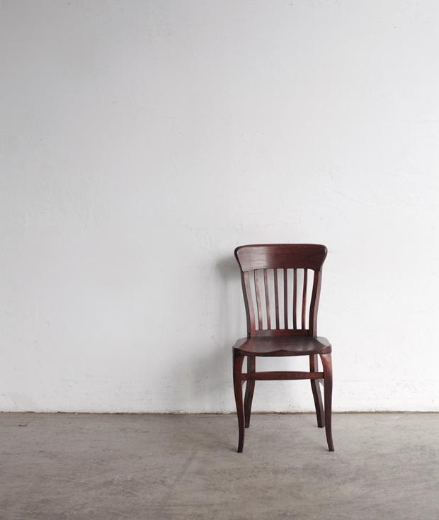 FDC2043 フランス  wood chair_d0335577_22475685.jpg