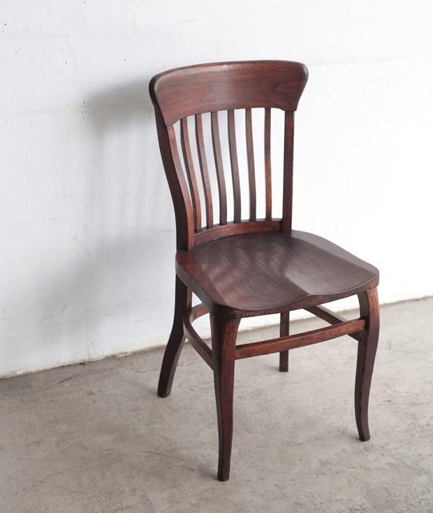 FDC2043 フランス  wood chair_d0335577_22481773.jpg