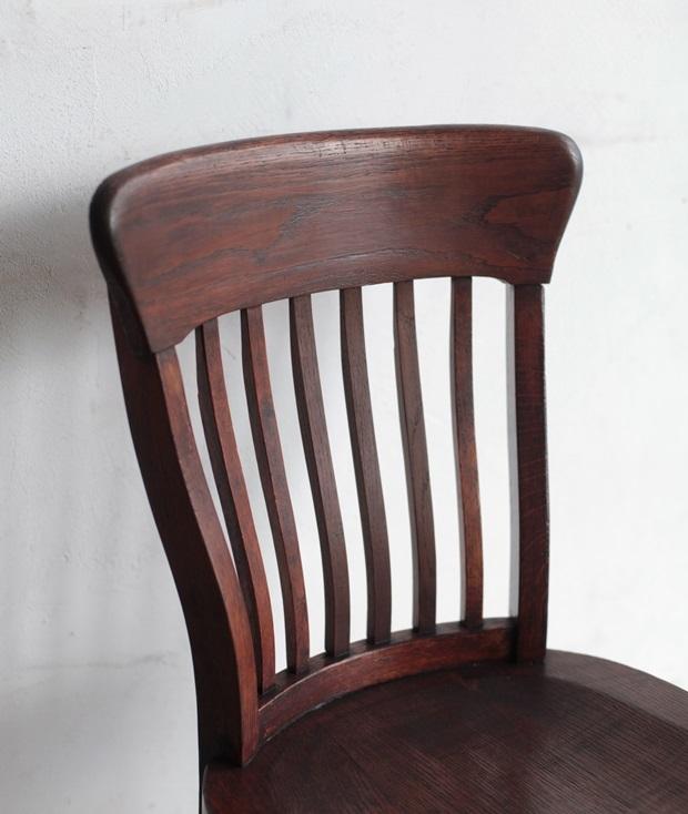 FDC2043 フランス  wood chair_d0335577_22484481.jpg