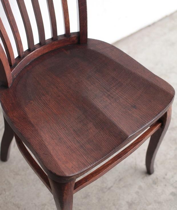 FDC2043 フランス  wood chair_d0335577_22491597.jpg