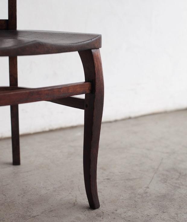 FDC2043 フランス  wood chair_d0335577_22492850.jpg