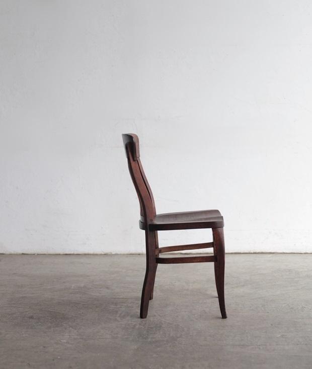 FDC2043 フランス  wood chair_d0335577_22494142.jpg