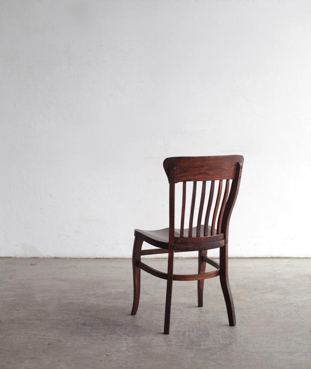FDC2043 フランス  wood chair_d0335577_22495249.jpg