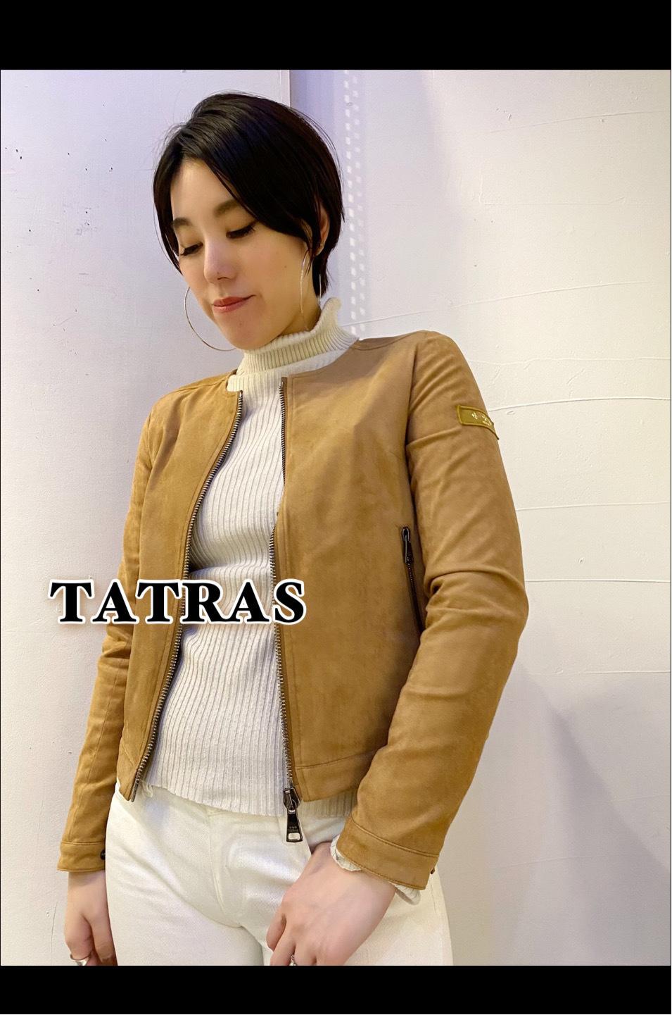 20SS「TATRAS  タトラス」ノーカラーブルゾン【TALETA】入荷です♪_c0204280_13140985.jpg