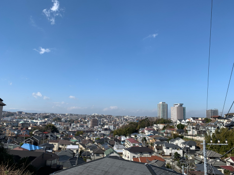 上大岡小学校前からの眺め_a0112393_11221891.jpg