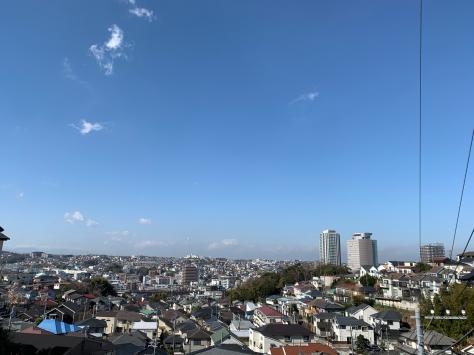 上大岡小学校前からの眺め_a0112393_11221946.jpg