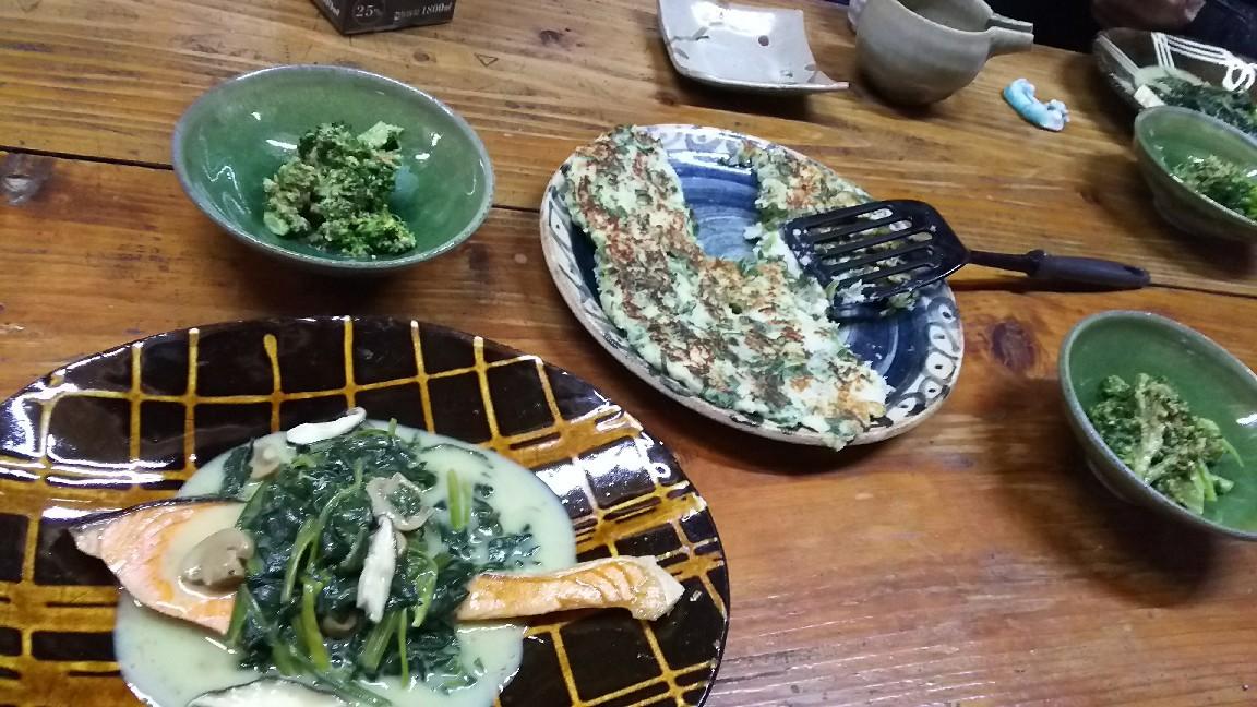 2月19日 野菜中心。_a0204408_19551894.jpg