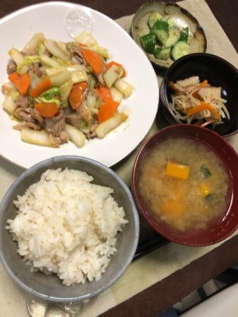 豚肉と白菜の炒め物_d0235108_21265059.jpg