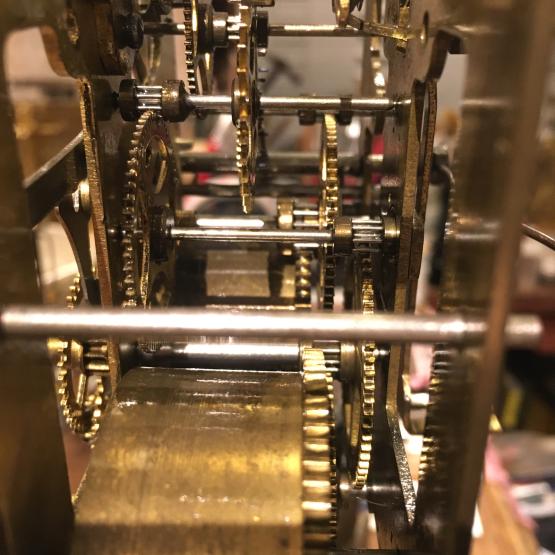 ゼンマイ式掛け時計の修理_b0167617_19310273.jpg