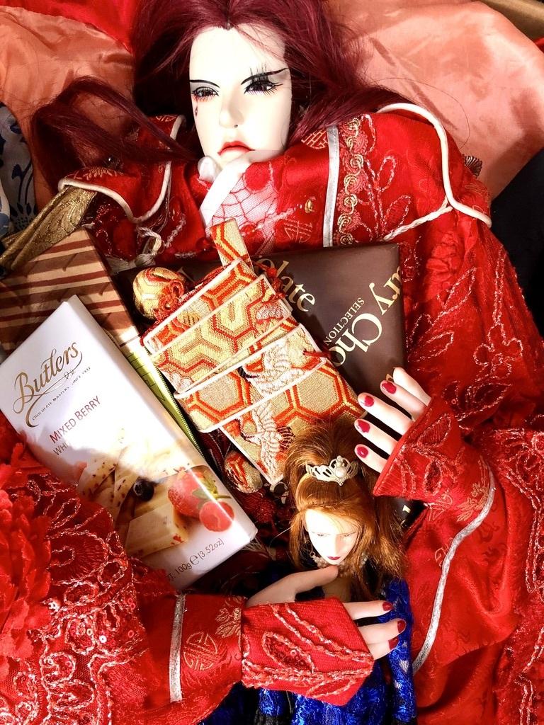 馬鹿日記。少し早めのバレンタイン と、少し遅めのバレンタイン。自宅_e0016517_17230907.jpeg