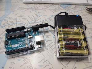 乾電池式携帯充電器をプチ実験電源にプチ改造する_d0106518_17324361.jpg