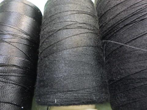 ビンテージレザージャケットの経年劣化する綿糸リペア_a0098324_18401900.jpg