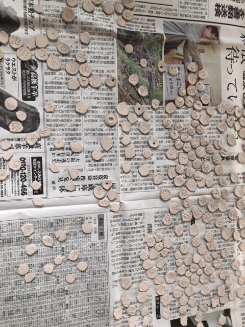 粘土で細かい工作しています。_f0373324_16314179.jpg