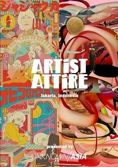 インドネシア発のアパレルブランド「ARTIST ATTIRE」の日本プレゼンテーション@「rooms 40」国立代々木競技場第一体育館 2/20 - 2/22_a0054926_20533665.jpg