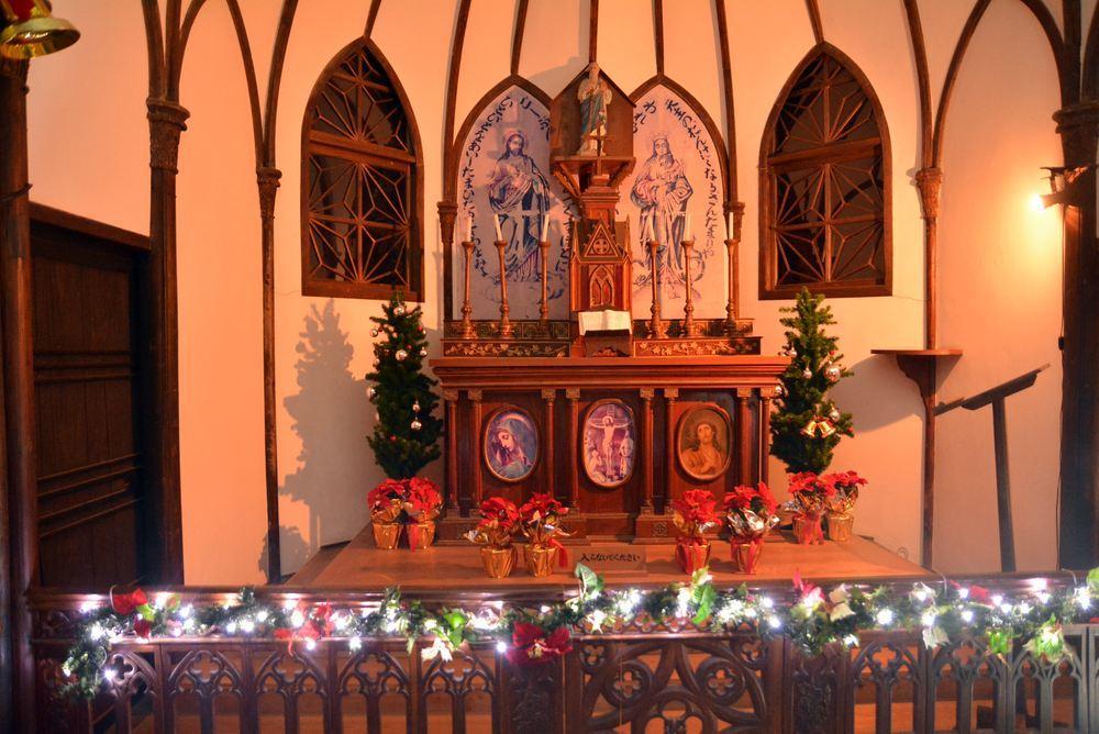 聖パウロ教会堂 クリスマス装飾とランプシェード_e0373930_20543009.jpg