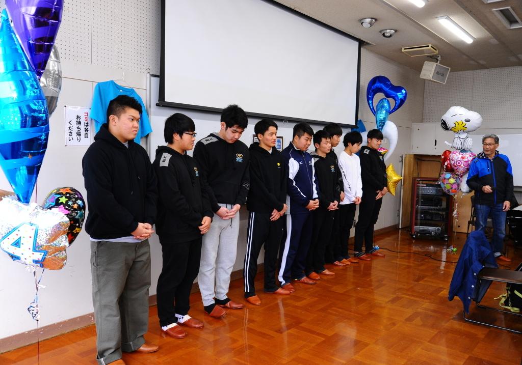 卒部試合&3年生慰労会・写真_c0095835_06450024.jpg