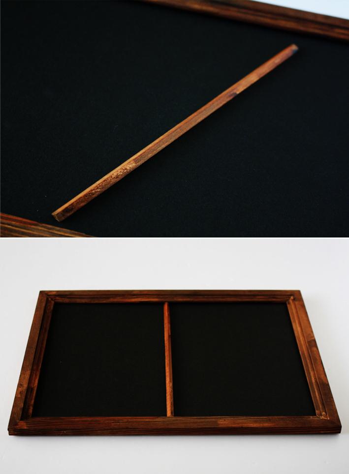 セリアの木製フレームを格上げDIY!_d0351435_10132273.jpg