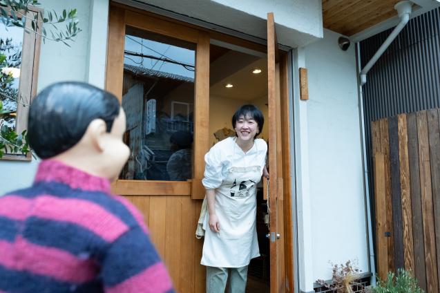 山本稔子さんのクレープ @ 喫茶ムギ_e0369736_17561875.jpg