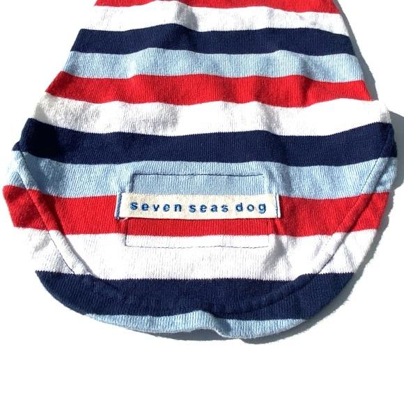 seven seas dog border T shirt セブンシーズドッグ ボーダーTシャツ_d0217958_18093163.jpeg