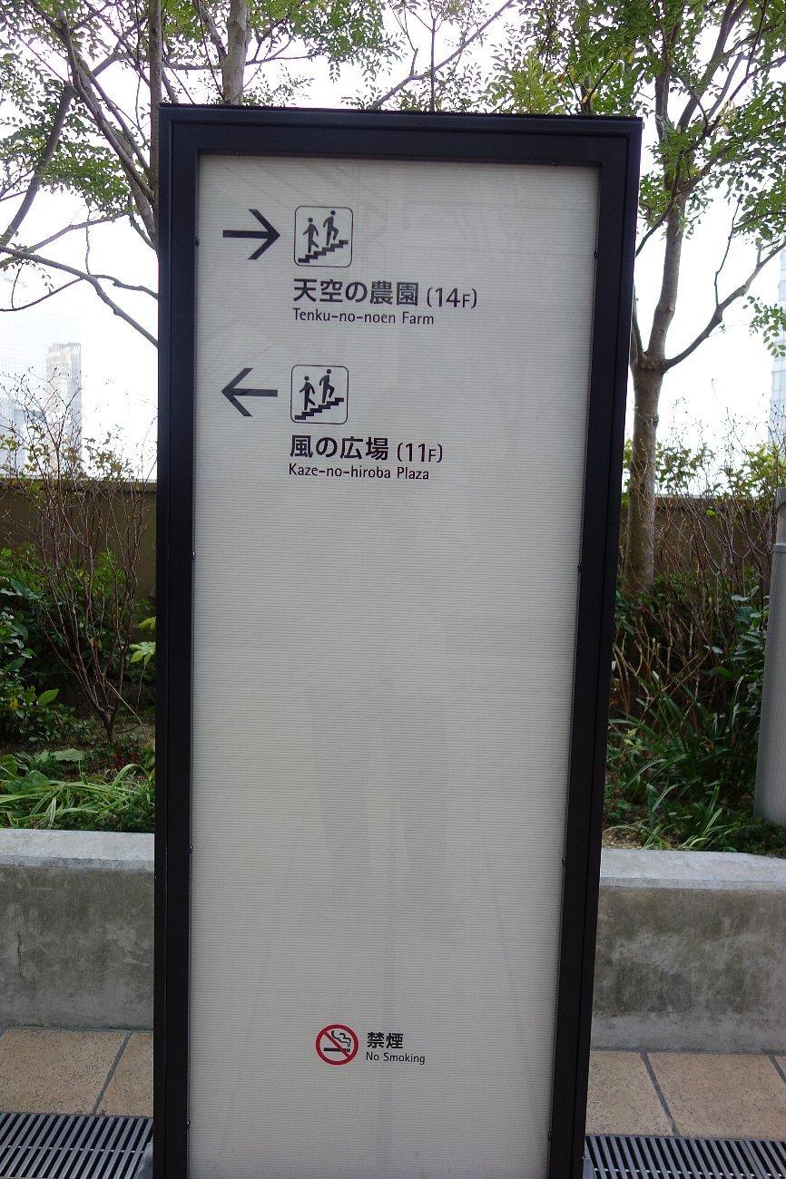 大阪ステーションシティ  天空の農園_c0112559_08551523.jpg