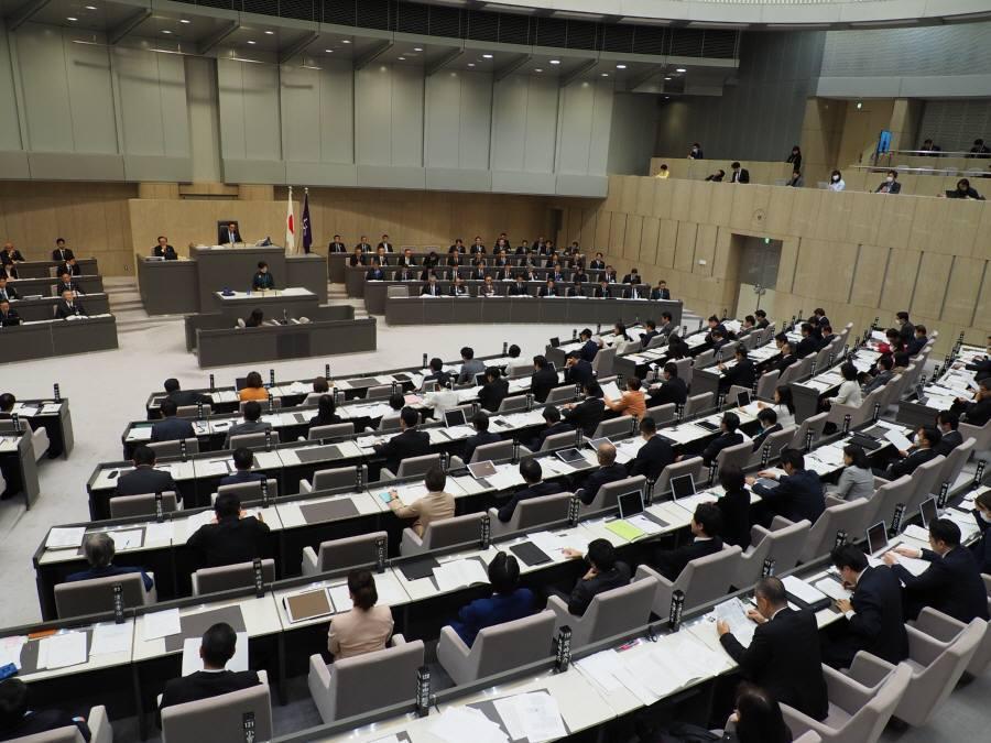 東京都議会第1回定例会開会_f0059673_22575889.jpg