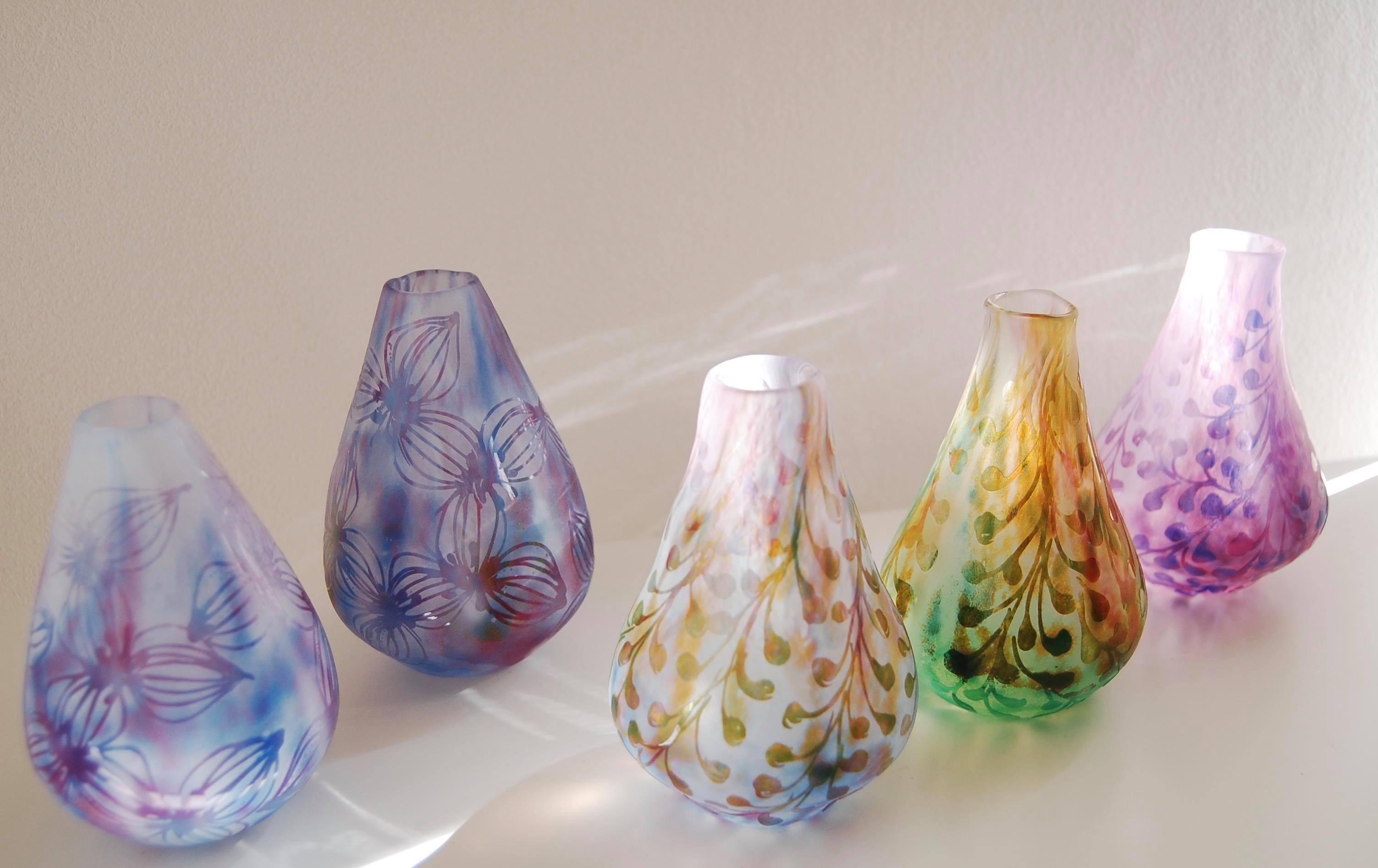 Bocciolo展 中野由紀子さんNostalgia花器・グラス_b0353974_15054159.jpg